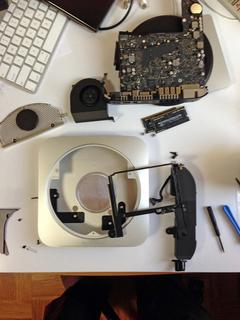 Mac miniディスク増設
