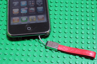 iPhoneに直付けできるストラップ