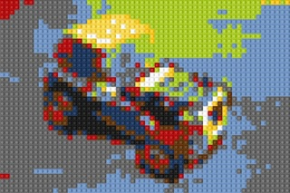 LEGO PhotoでLEGO