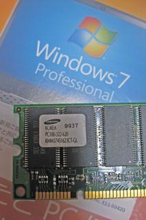Windows 7 DSP版+中古メモリセット