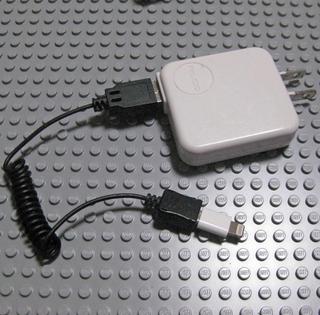 Lightning - Micro USBアダプタ