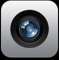 「カメラ」アプリアイコン