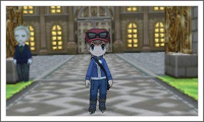 パルファム宮殿前