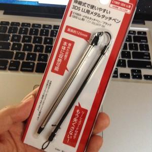コード付きのタッチペン