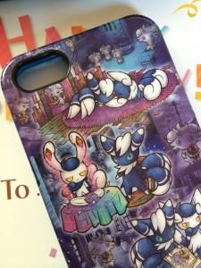 ニャオニクスのiPhoneカバー