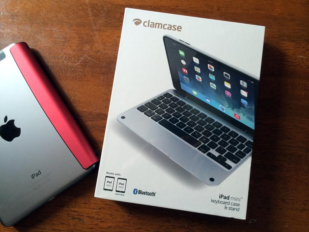 ClamCase Pro for iPad mini