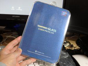 WANLOCKのiPad mini 4用ガラスフィルタ