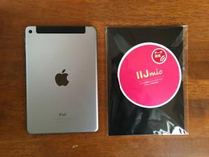 iPad用のデータ専用SIM