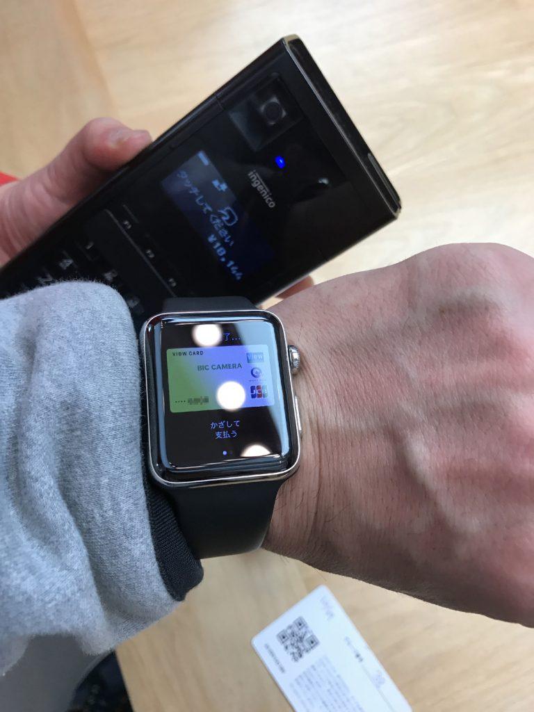 AirPodsの支払いはApple WatchのApple Payで