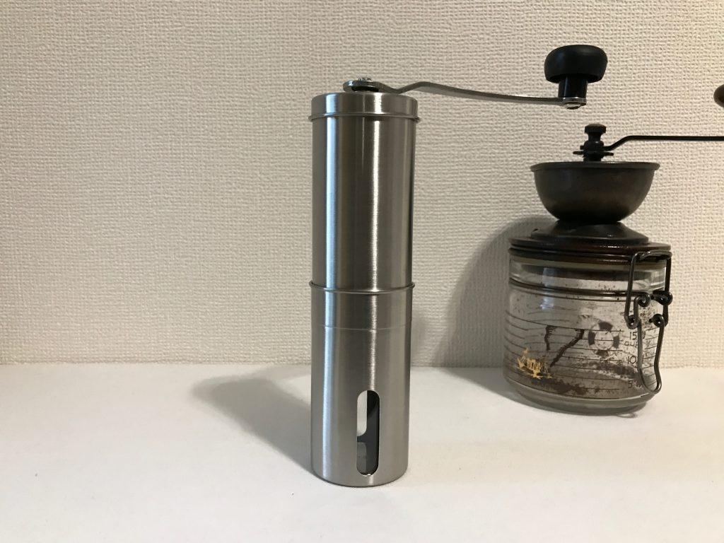 CITUS 手挽きコーヒーミル セラミックカッター 手動ステンレスミル