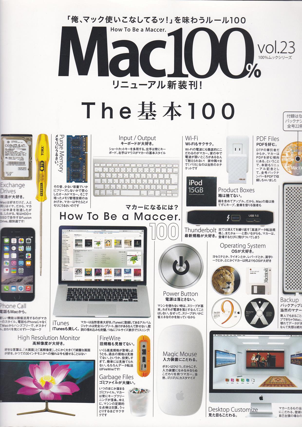 Mac100% Vol.23