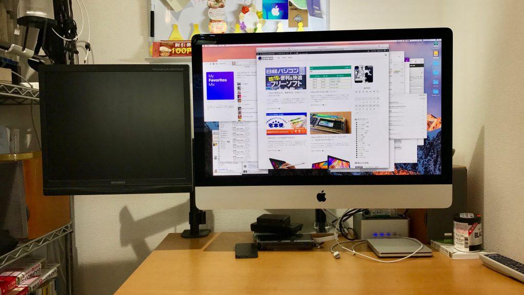 iMac 5Kに4:3で17インチのRDT1714VMを接続してみた