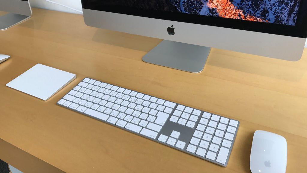 テンキー付きのMagic Keyboardがあった