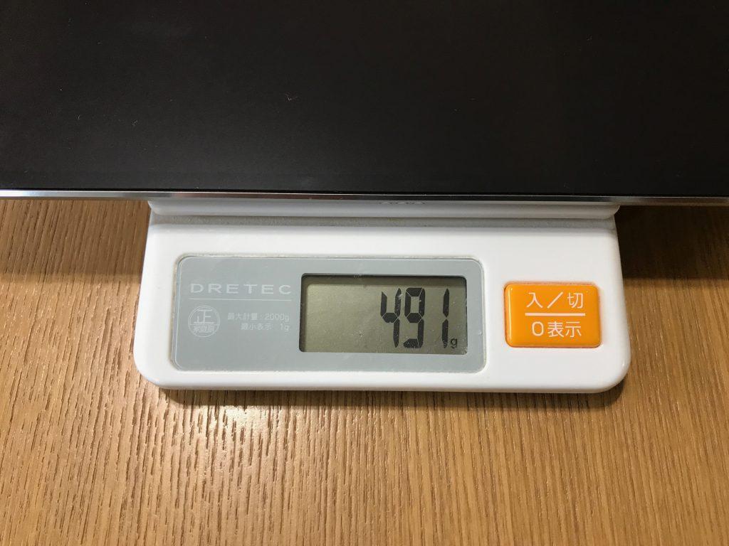 10.5インチiPad Proの重さ