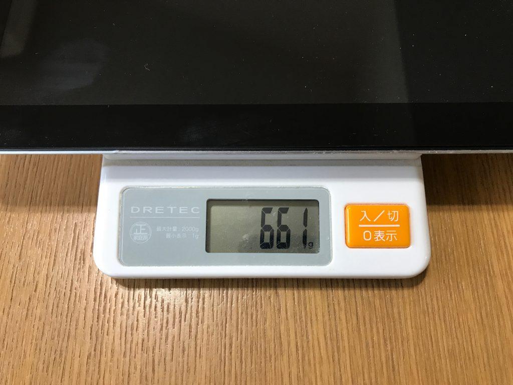 iPad 3の重さ
