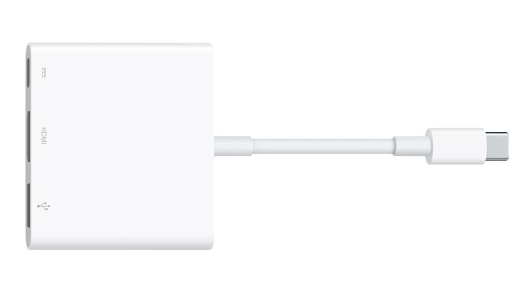 MacBook12インチモデル用のUSB-C Digital AV Multiportアダプタ