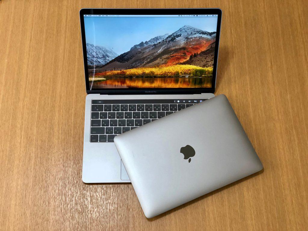 13インチMacBook Pro 2017と12インチMacBook 2015