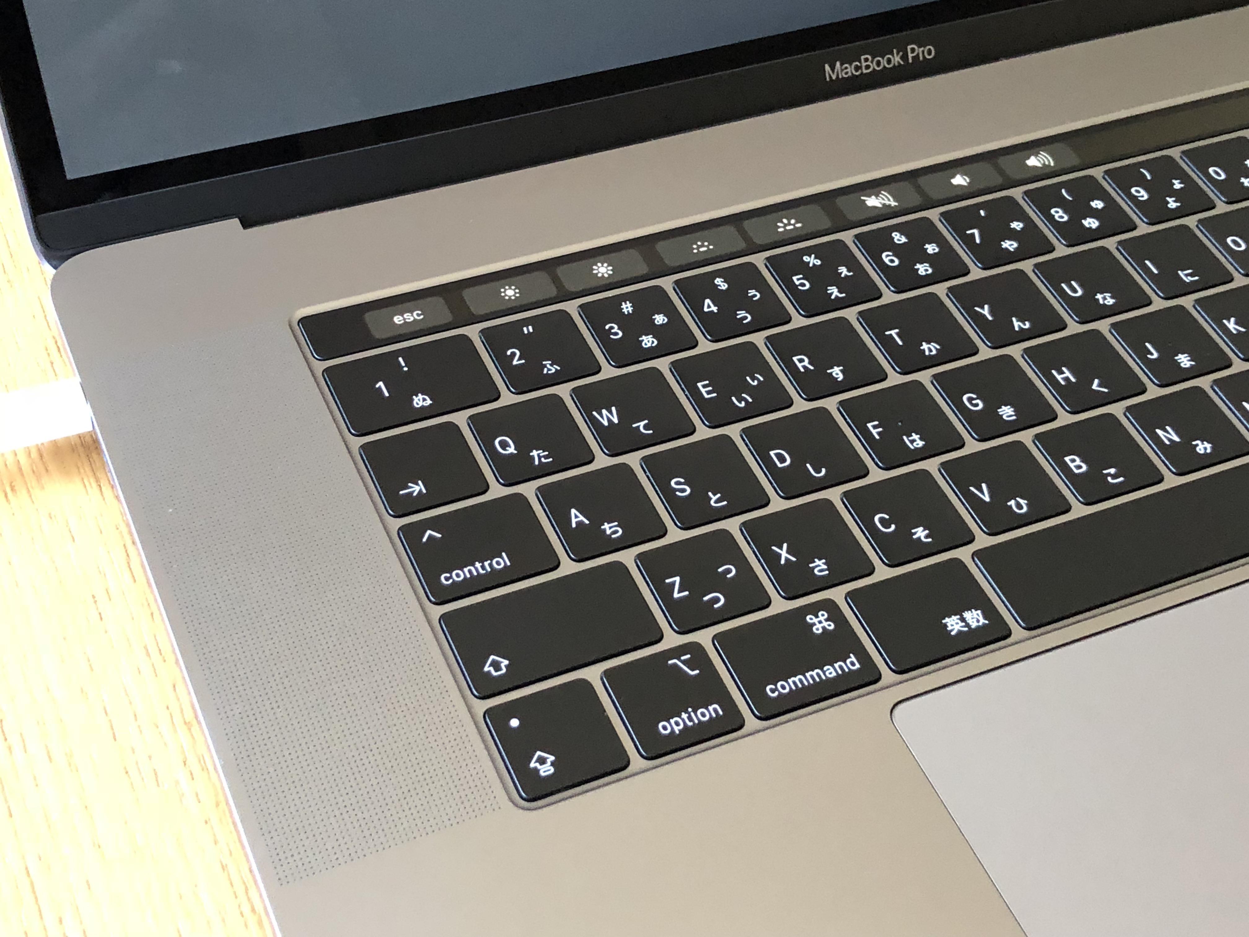 MacBook Pro (15-inch, 2018)、2.9 GHz Intel Core i9、32 GB 2400 MHz DDR4、Intel UHD Graphics 630 1536 MB